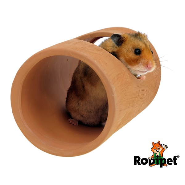 Rodipet® EasyClean TERRA Ceramic Tube 20 cm with Side Entrance