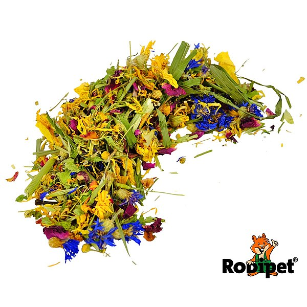 Rodipet® Nature's Treasures Flowering Meadow 130g
