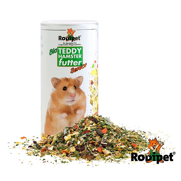 "Rodipet® Organic Teddy Hamster Food ""SENiOR"" - 500g"