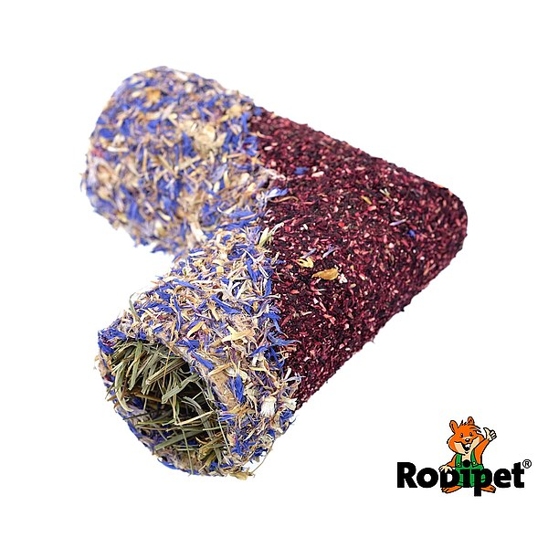 Rodipet® Corner Tunnel with Flowers, Size S Ø 55 mm