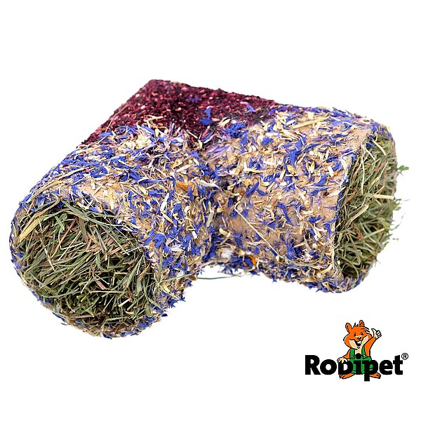 Rodipet® Corner Tunnel with Flowers, Size M Ø 70 mm