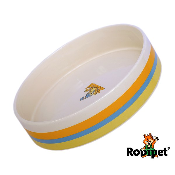 ZooDi® Glazed Ceramic Pet Bowl Ø 17 cm