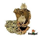 Rodipet® Cork Tunnel size M – ca 20 cm long and 8-12 cm in Diameter