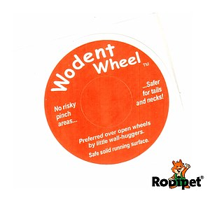 Original Sticker for Wodent Wheels™ - ORANGE