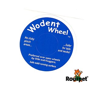 Original Sticker for Wodent Wheels™ - DARK BLUE