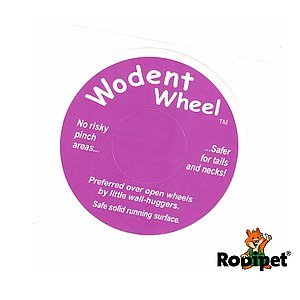 Original Sticker for Wodent Wheels™ - DARK PINK
