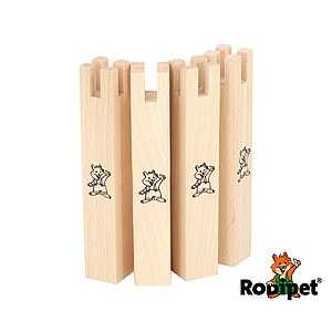 Rodipet® Set of 4 Stilts, 8 mm to fit +GRANiT line of houses
