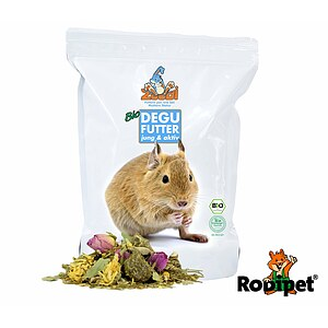 "ZooDi® Organic Degu Food ""young & active"" - 1400g"