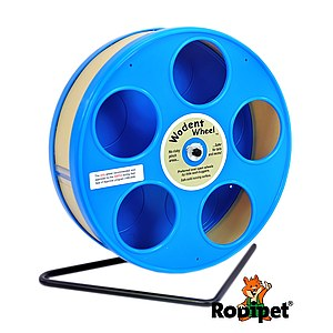 ø 20 cm Wodent Wheel™ for small dwarf hamsters - blue/beige